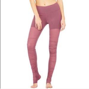 Alo Yoga Goddess Mesh Leggings S